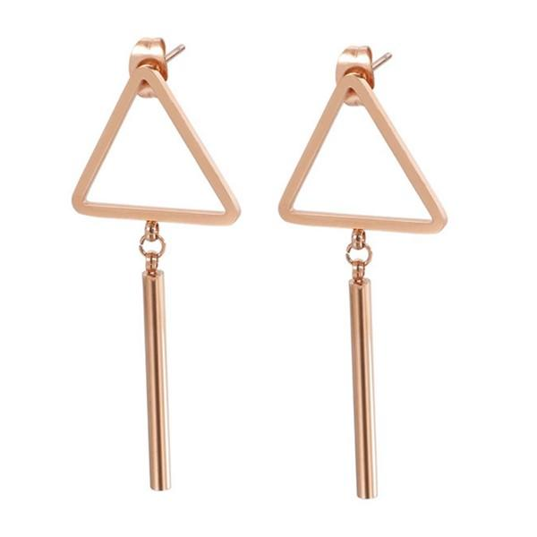 JaneE multi colors surgical stainless steel earrings comfortable for decoration-3