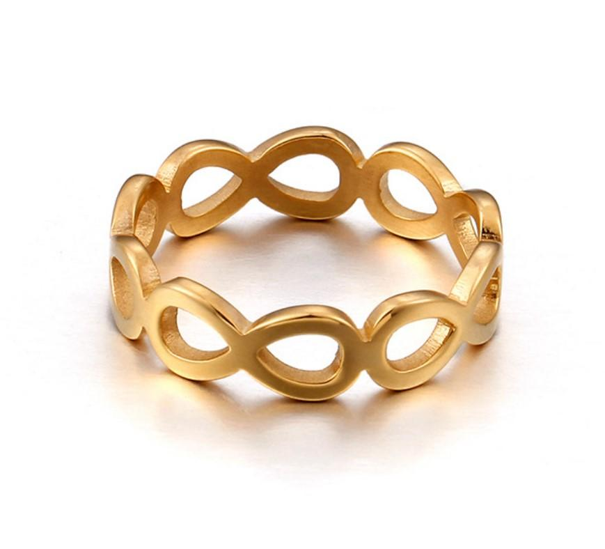 JaneE brown stainless steel promise rings fashion design for men-3