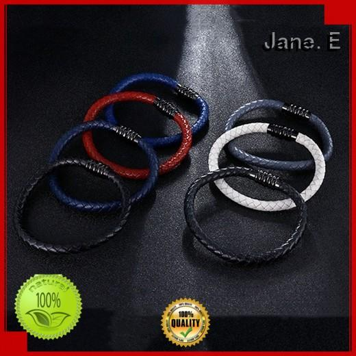 JaneE multi colors stainless steel bangle bracelets exquisite manufacturer