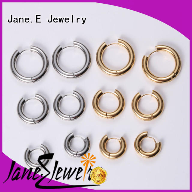 JaneE stylish fashion earrings OEM for women