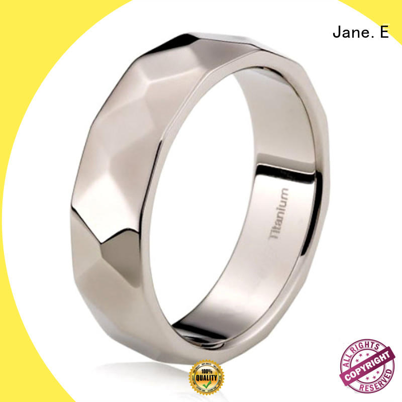 hypoallergenic two tone titanium mens wedding bands simple for engagement