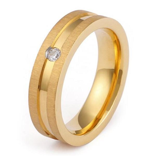 JaneE customized stainless steel ring blanks top quality for men-3