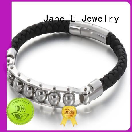 JaneE custom made mens stainless steel bangle exquisite for gift