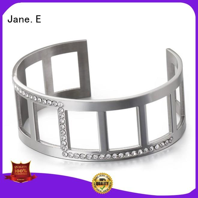 JaneE 316l bangle for women hot selling for gift