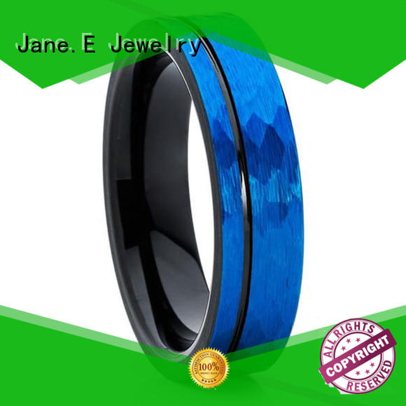 multi colors wood tungsten ring meteorite exquisite for engagement