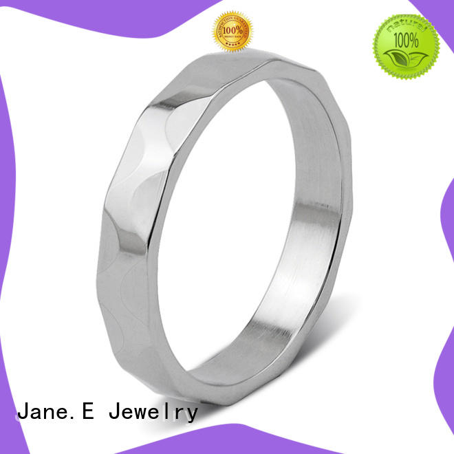 factory direct surgical steel rings black comfortable for weddings