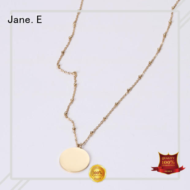 classic stainless steel necklaces wholesale engraved different dimension for decoration