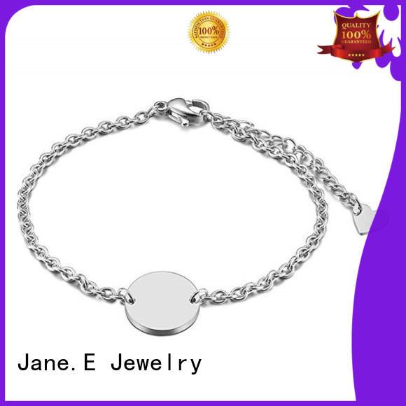 JaneE stainless bracelet customized for women