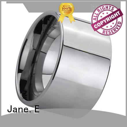 traditional tungsten band rings inlay brushed matt for engagement