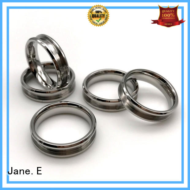 plated stainless steel wedding rings brown for decoration JaneE