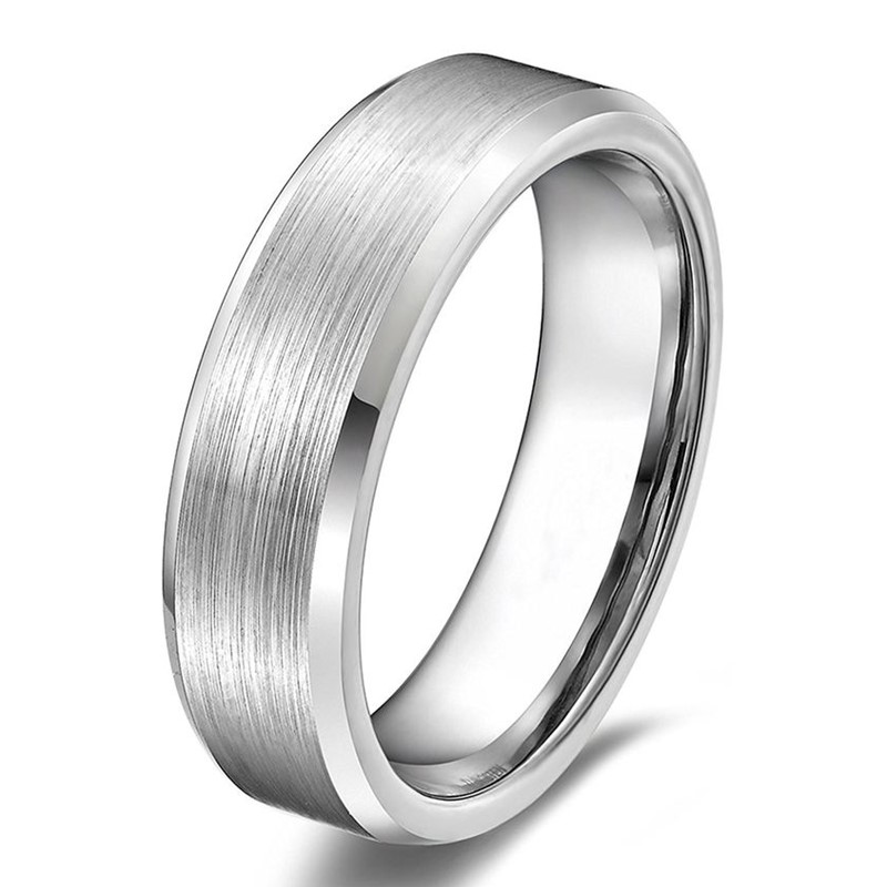 JaneE koa wood mens tungsten carbide wedding bands engraved for wedding-5