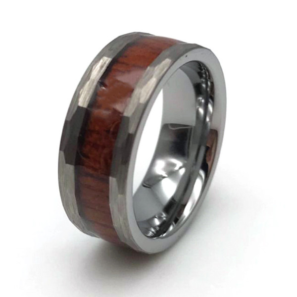JaneE shiny polished 6mm tungsten men's wedding band engraved for engagement-3