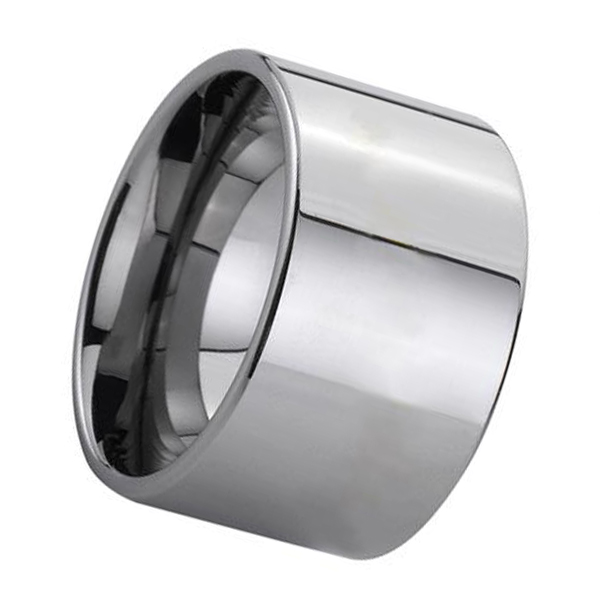 traditional tungsten ring damascus texture engraved for wedding-2