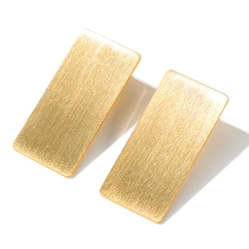 Big Stub Bar  Pure Titanium Earrings for Women Girl Gift