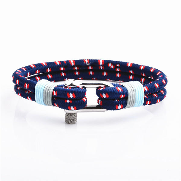 Amazon Best Selling 2019 Camouflage Colors Nylon Rope Bracelets For Men