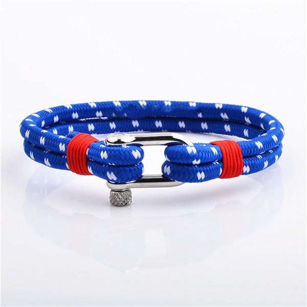 Amazon Best Selling 2019 Camouflage Colors Nylon Rope Bracelets For Men