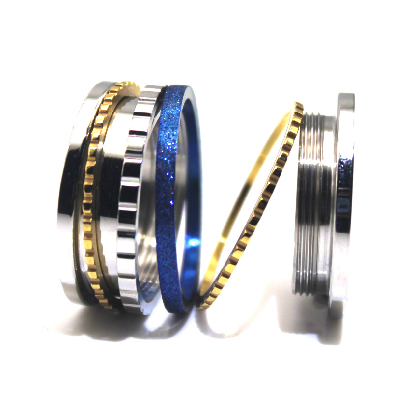 JaneE factory direct stainless steel wedding band top quality for weddings-3