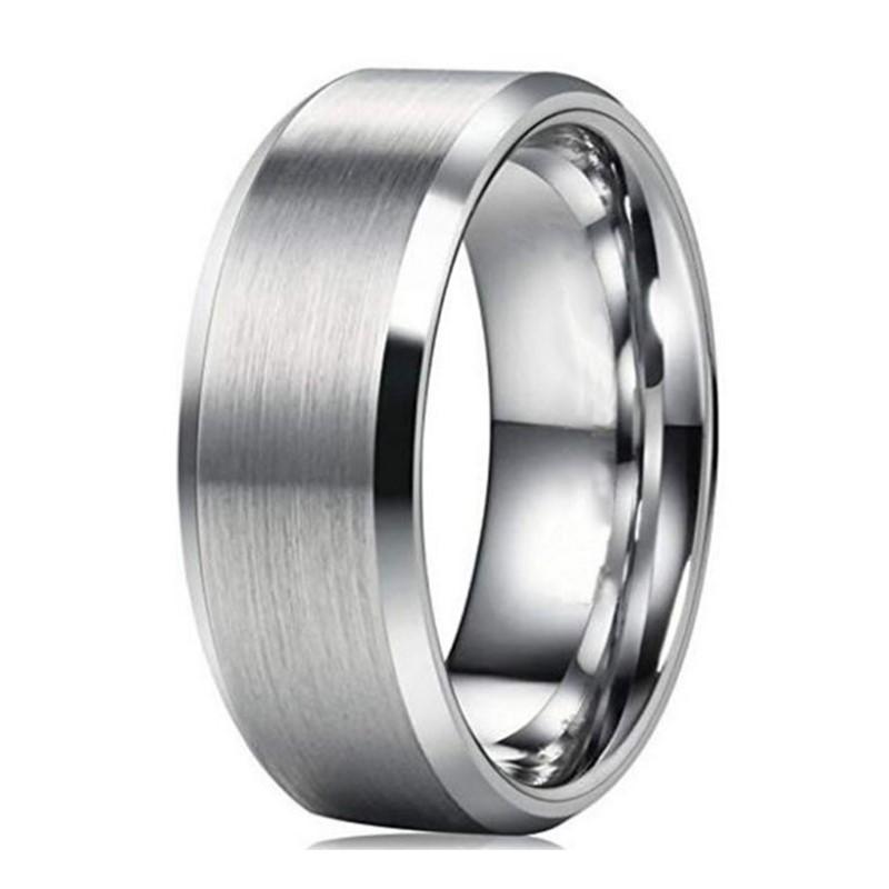 JaneE 18k gold black steel ring fashion design for decoration-1