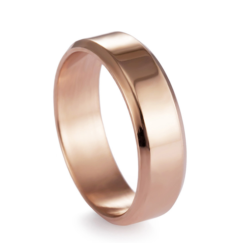 JaneE customized stainless steel wedding band comfortable for decoration-2