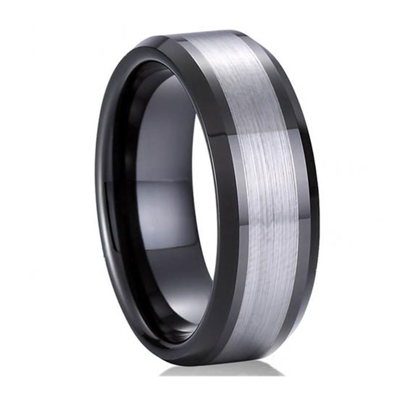 Tungsten Jewelry Wedding Ring for Gentlemen