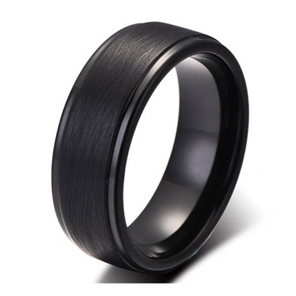 JaneE shiny polished tungsten carbide ring price exquisite for engagement-1