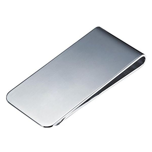 Custom Engraved Name 316L Stainless Steel Mens Money Clip