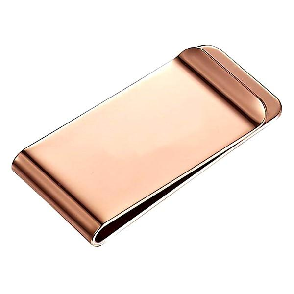JaneE wood inlay best money clip personalized for men's wallet
