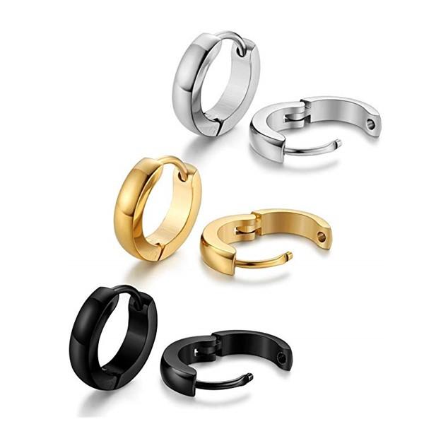 JaneE cuff hoop pearl earrings for women durable for women-1