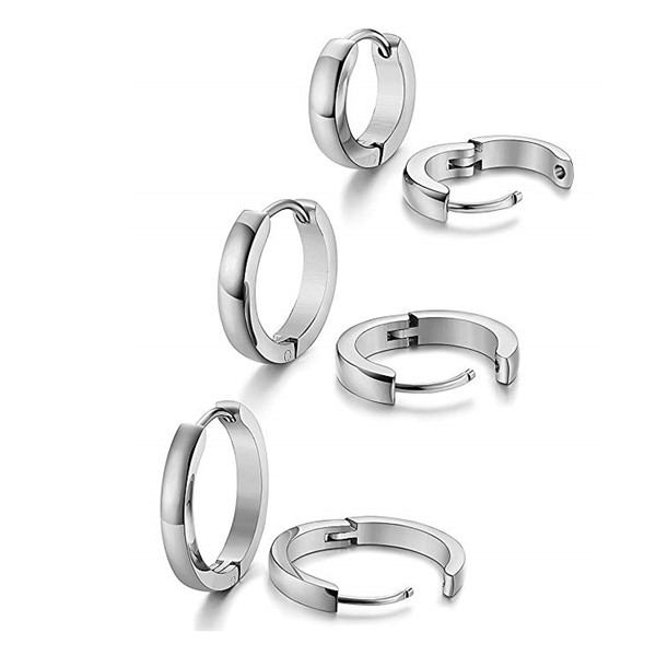 JaneE pendants surgical stainless steel earrings comfortable for decoration-4