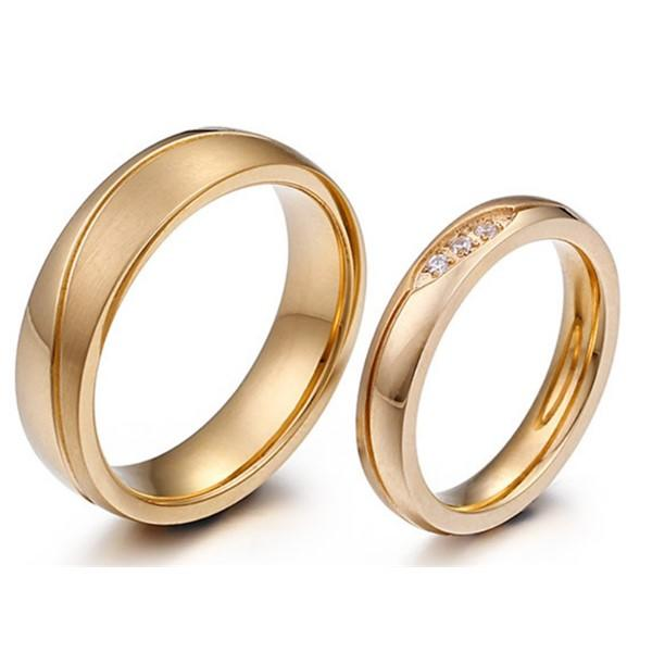 JaneE factory direct ladies stainless steel rings comfortable for decoration