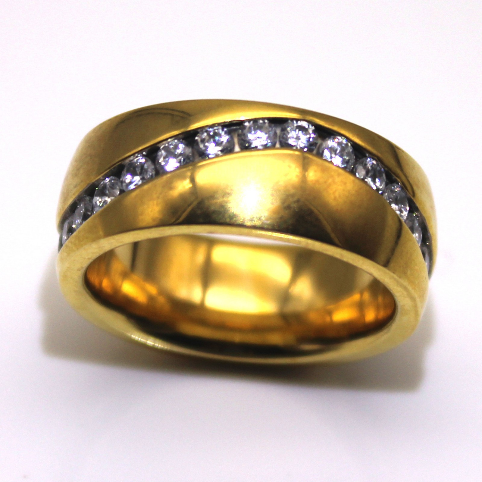 JaneE square edges men's wedding band top quality for men-2