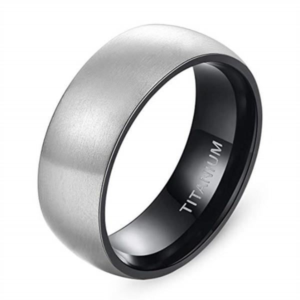 JaneE sparkle sandblasting titanium engagement rings for her wholesale for engagement-1