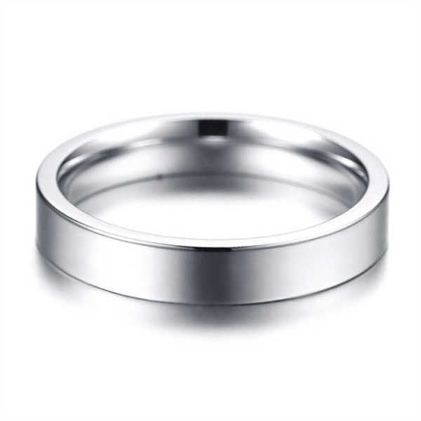shiny men's wedding band 316l steel fashion design for weddings-1