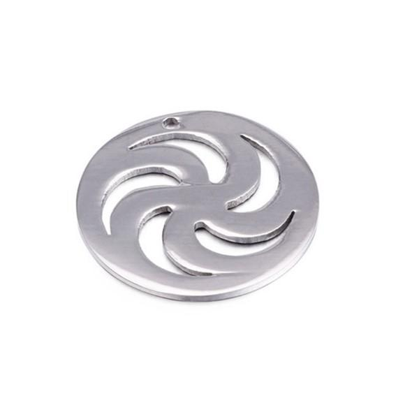 316L Surgical Stainless Steel DIY Charms Cutting Pendant
