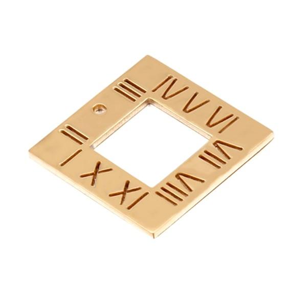 JaneE IP gold stainless steel pendant for men custom for men-4