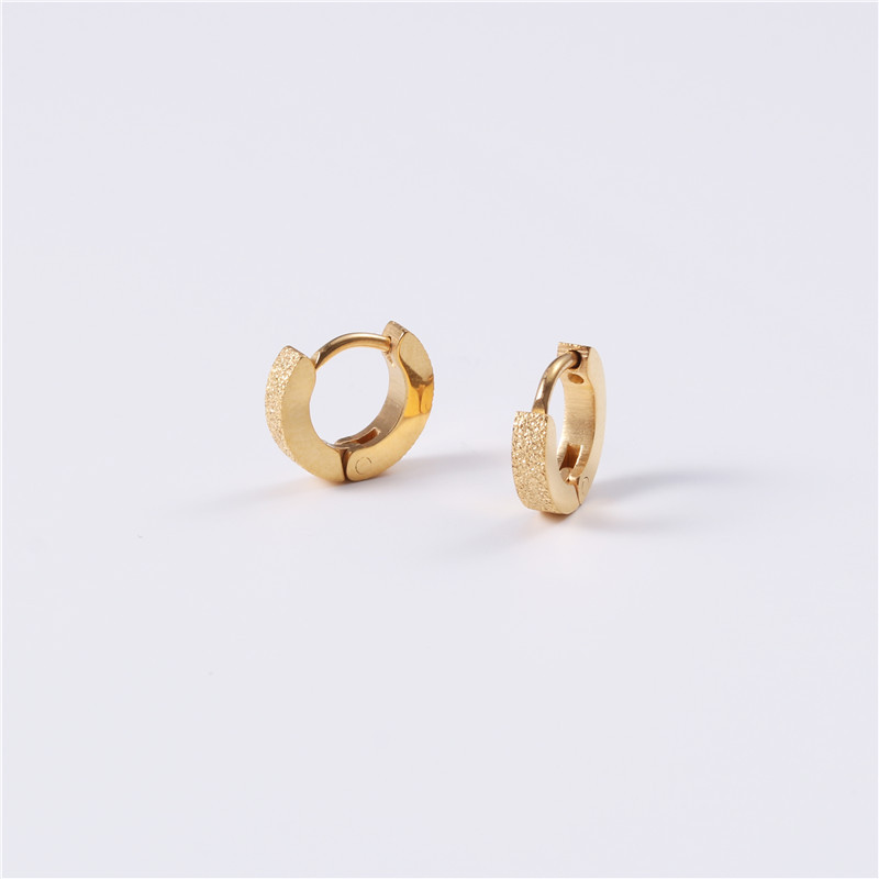 JaneE stylish surgical stainless steel earrings customized for decoration-5