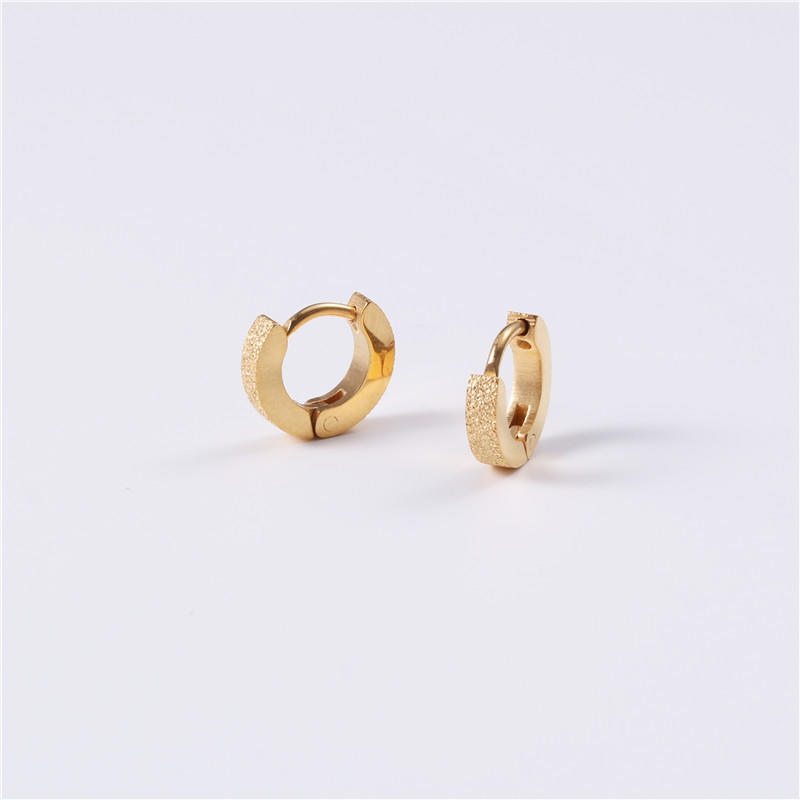 JaneE stylish surgical stainless steel earrings customized for decoration