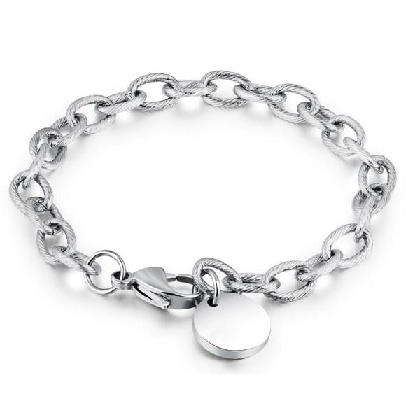 fashion bracelet stainless steel gold plated customized for hands wear