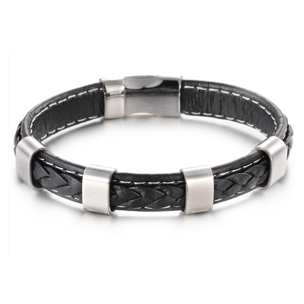 JaneE luxury stainless steel chain bracelet customized for gifts-2