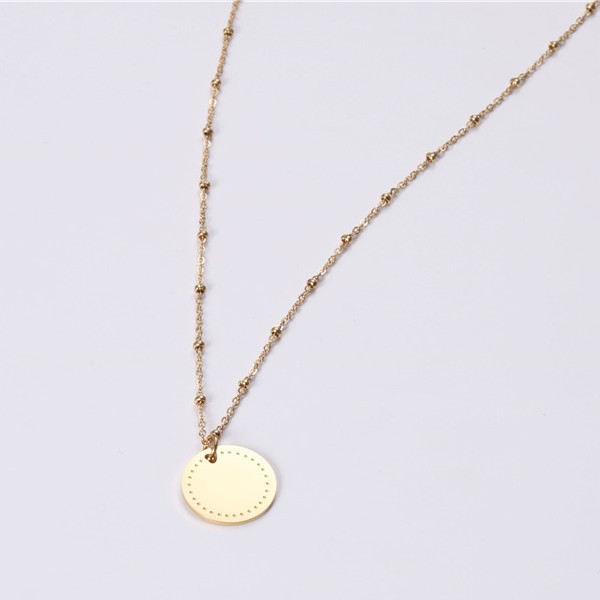 fragrant stainless necklace engraved different dimension for decoration-1