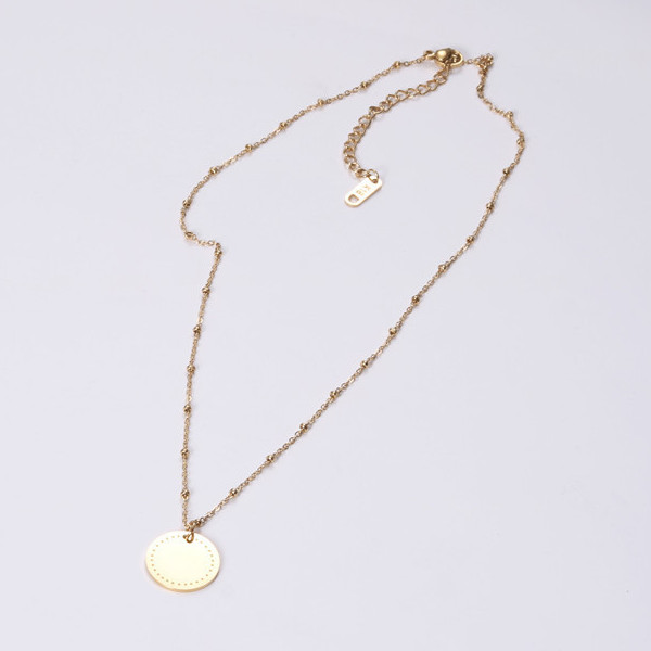 fragrant stainless necklace engraved different dimension for decoration-3