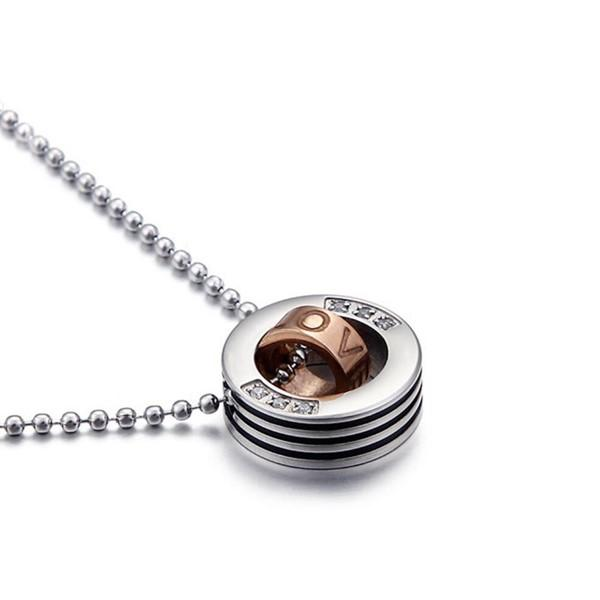 fragrant minimalist necklace brushed surface manual polished for decoration