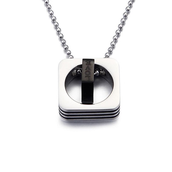 fragrant minimalist necklace brushed surface manual polished for decoration-3