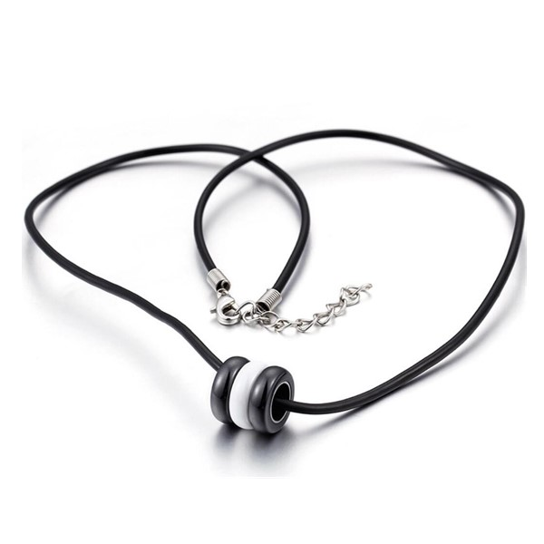 fragrant stainless steel necklace brushed surface manual polished for decoration-3