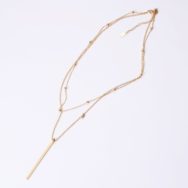 JaneE fragrant steel chain necklace factory direct manufacturer-2