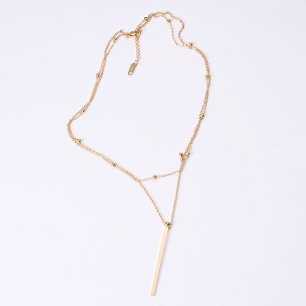 JaneE fragrant steel chain necklace factory direct manufacturer-3