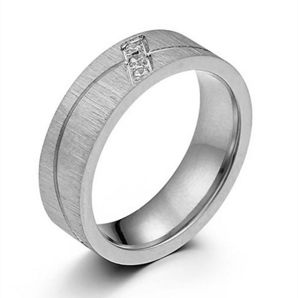 JaneE shiny stainless steel band comfortable for men