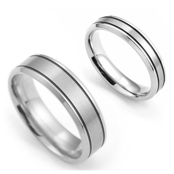 JaneE factory direct stainless steel promise rings for him comfortable for decoration-4