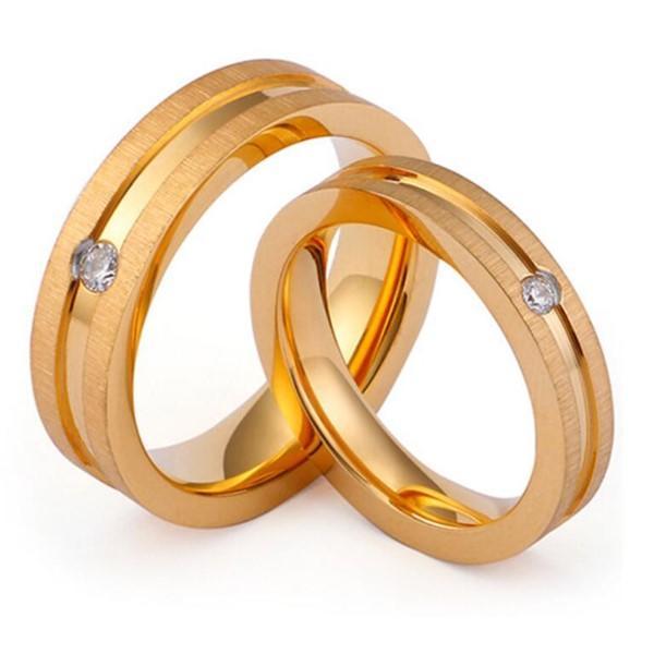 Shiny Diamond Wedding Band for Men and Women