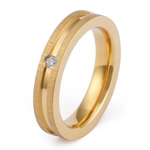 JaneE shiny stainless steel ring multi colors for decoration
